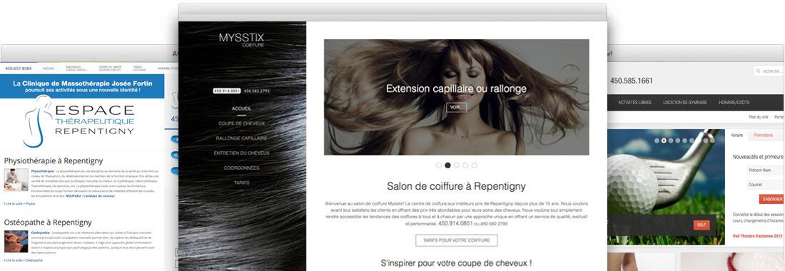 creation site web Repentigny