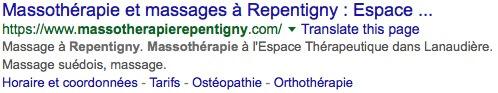 Massage Repentigny