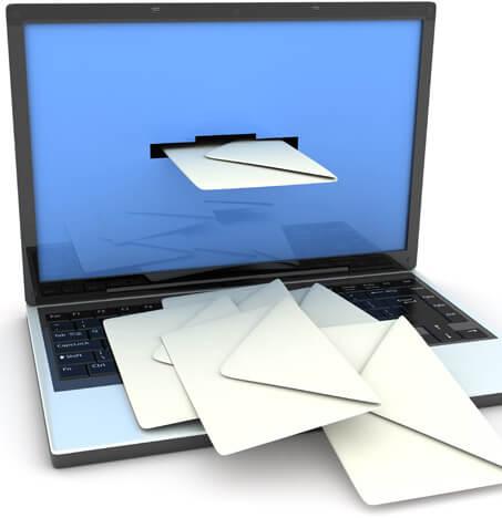 recevoir prospect par email